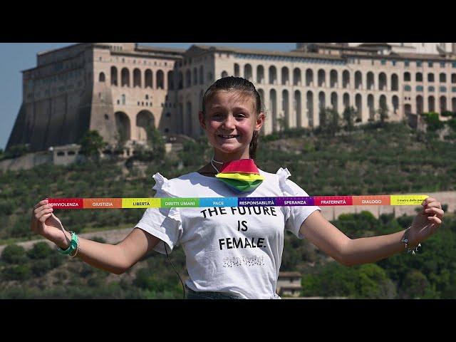 Catena Umana PerugiAssisi della pace e della fraternità