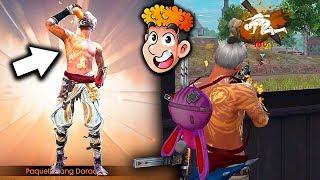 DESPUES DE CONSEGUIR LA NUEVA SKIN EN LA INCUBADORA DE FREE FIRE PARECIA HACKER *wow* | TheDonato