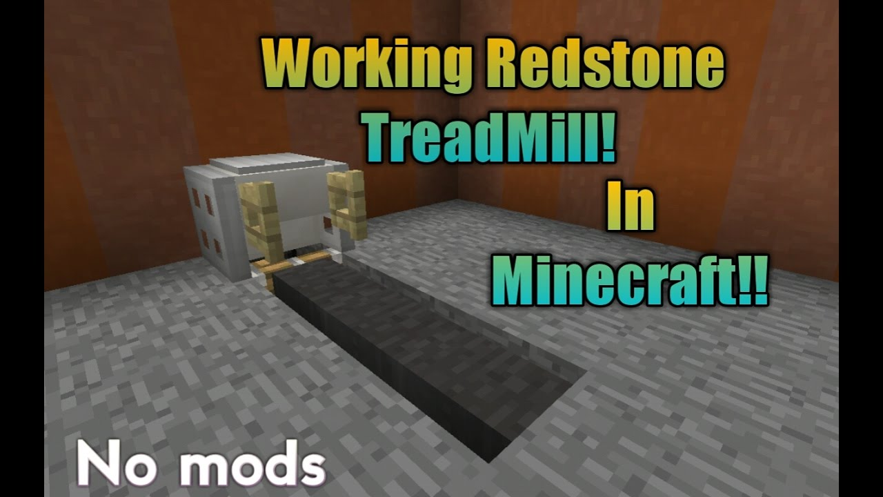 How To Make A Working Treadmill In Minecraft   Youtube. Wall Laptop Desk. Kids Art Table With Storage. Adjustable C Table. Resin Patio Tables. Closet Organizer Drawer Unit. Diy Counter Height Table. Sewing Desk Plans. Help Desk Lead Job Description