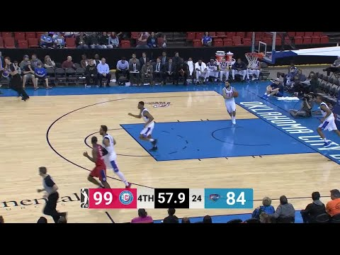 Brice Johnson (16 points) Game Highlights vs. Oklahoma City Blue