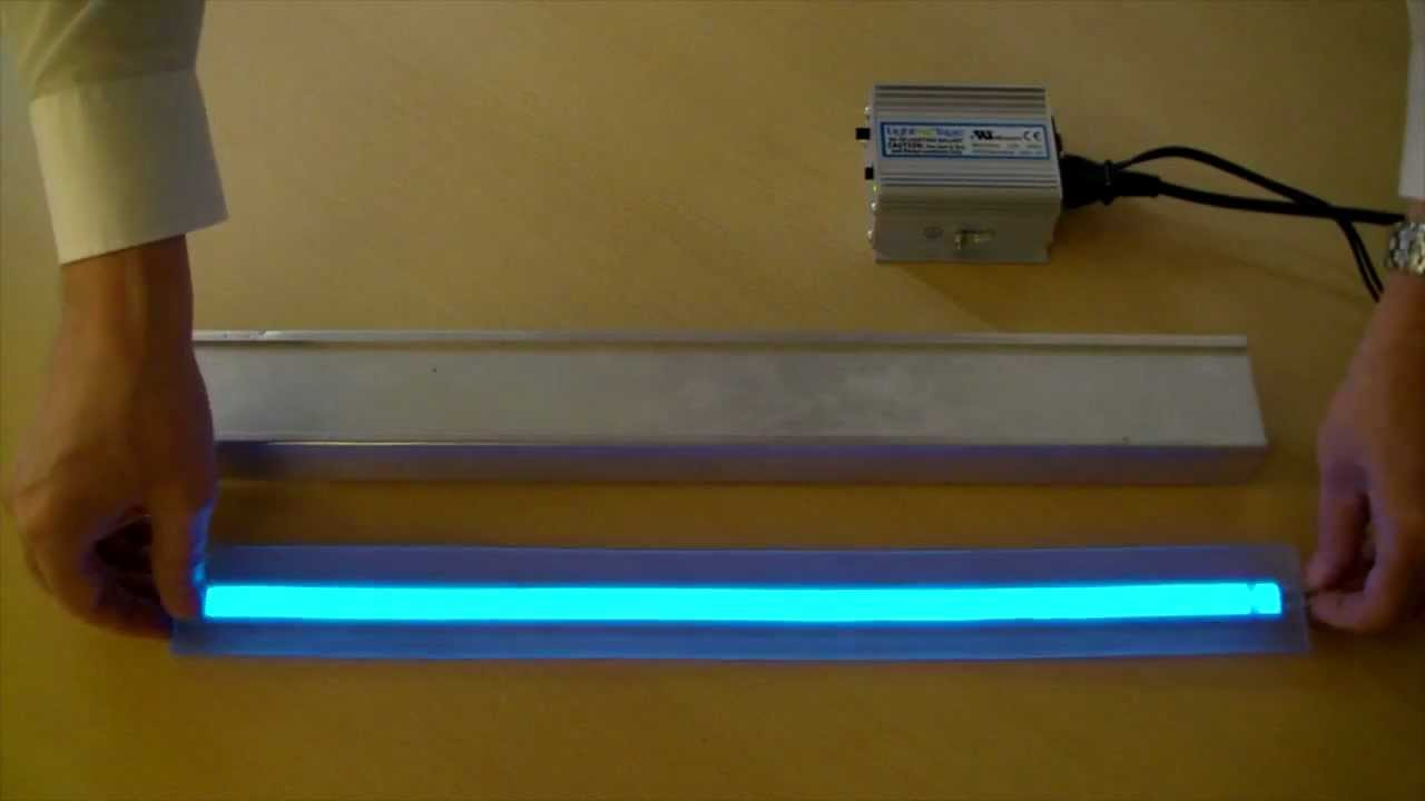 Amazing LumaGrip™ Anti Slip Illuminated Stair Tread With Light Tape®.mov   YouTube