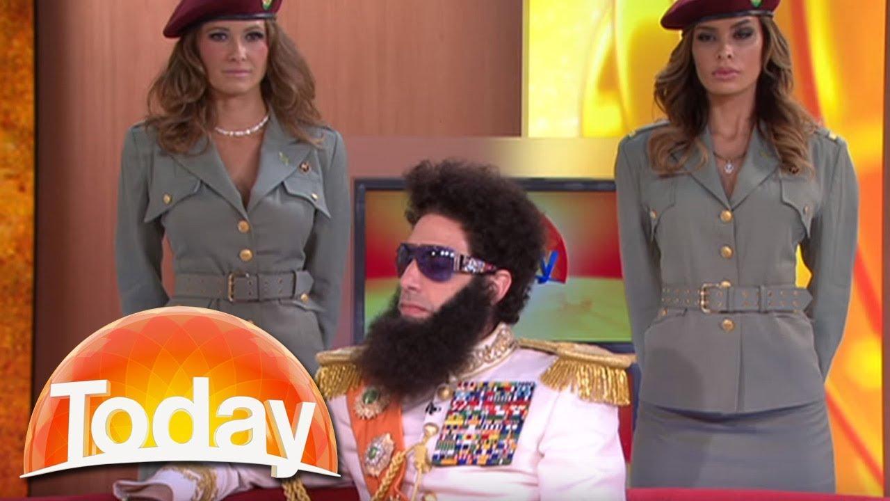Download The Dictator imparts his wisdom on Aussie TV