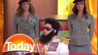 The Dictator imparts his wisdom on Aussie TV