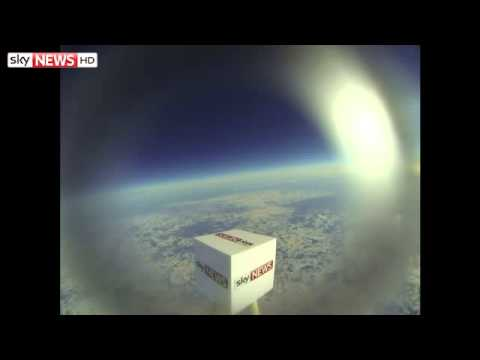Take A Trip To Near Space (And Back) With Sky News Cube