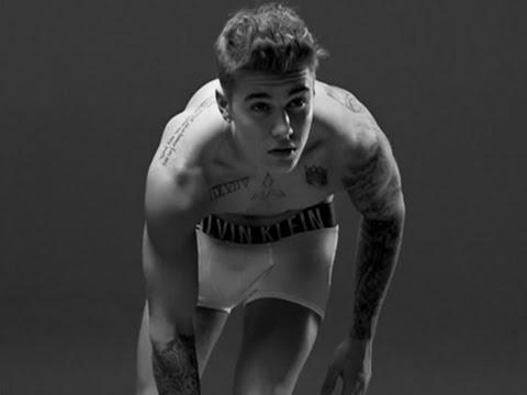 Bieber Strips Off for Calvin Klein