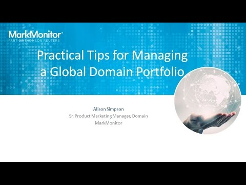 Practical Tips for Managing a Global Domain Portfolio