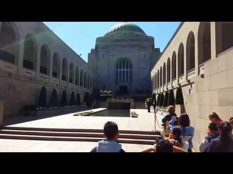 Changing of the Guard Australian War Memorial