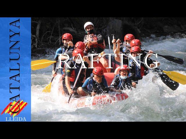 Rafting por el Noguera Pallaresa desde Llavorsi a Rialp | Pirineo Lleida