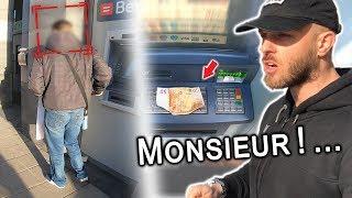 Exp. Sociale #72: OUBLIER 50€ AU DISTRIBUTEUR...