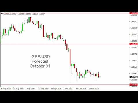 GBP/USD Technical Analysis for October 31 2016 by FXEmpire.com