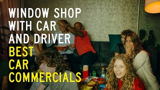 homepage tile video photo for Best Car Commercials: Window Shop with Car and Driver