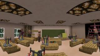 Майнкрафт в 360 градусов 6 Жизнь в школе