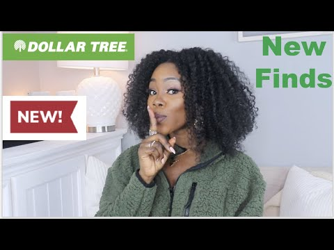 Come shop with me at the dollar tree | Amazing new finds | Vlog