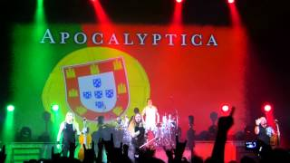 Video resumo - Apocalyptica @ Coliseu de Lisboa 03-11-2015