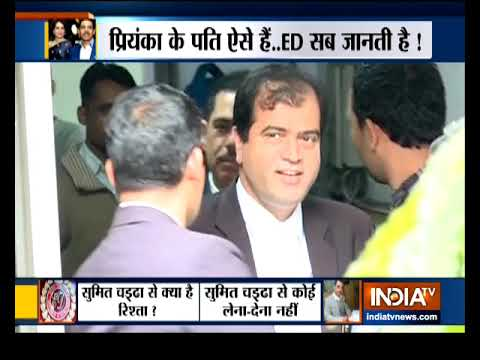 Watch India TV special show on Robert Vadra