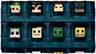 El Templo De Las 1000 Cabezas - Minecraft La Isla De Los Mods