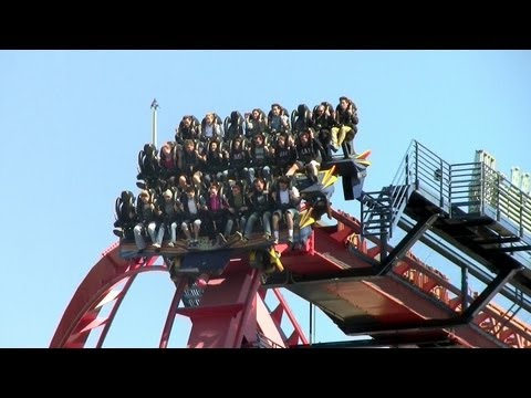 SheiKra off-ride HD Busch Gardens Tampa