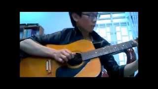 Blue - Bigbang Guitar Fs (B.A cover)