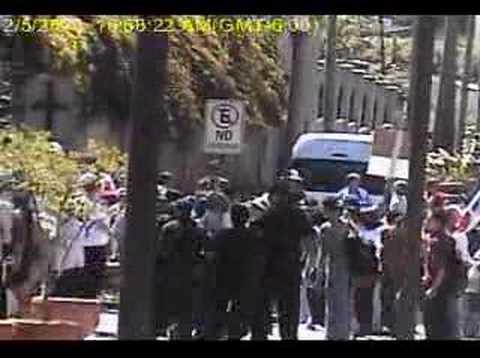 agresion policial  asamblea legislativa evans marin