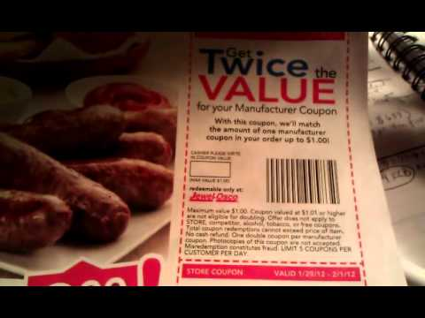 Jewel/Osco (Albertsons)-Doubling Coupon!