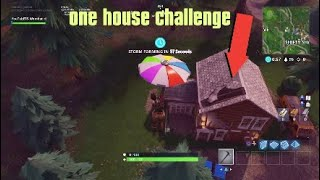 one house challenge in fortnite battle royale