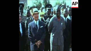 SYND 07/09/1970 FOREIGN MINISTERS ARRIVE IN LUSAKA FOR THE THIRD NON-ALIGNED NATIONS ...