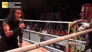 Pagano vs Nicho El Millonario, lucha en cadenas en la Arena López Mateos