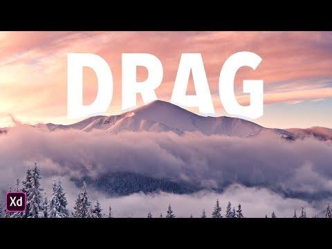 Mastering Adobe XD: Drag Triggers
