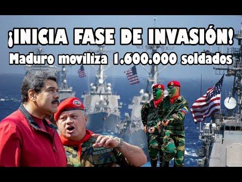 INICIA FASE DE INVASIÓN A VENEZUELA!! | Así se prepara Maduro 😱 🇻🇪