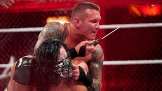 Randy Orton Twists Jeff Hardy