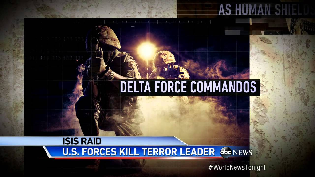 Inside the Delta Force Mission to Kill Top ISIS Leader