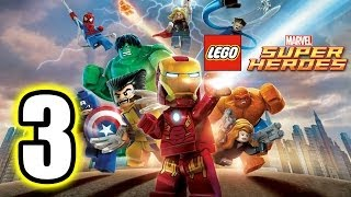 LEGO Marvel Super Heroes Walkthrough PART 3 [PS3] Lets Play Gameplay TRUE-HD QUALITY