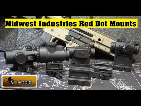 Red Dot Mounts from Midwest Industries Review