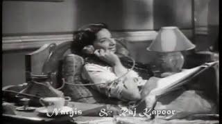 mere dil ki dhadkan kya bole..Talat -Lata -Shailendra-Roshanlal -Raj Kapoor & Nargis