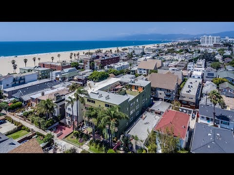 Silicon Beach Loft Style Penthouse For Sale | 41 Sunset Ave #302, Venice, CA