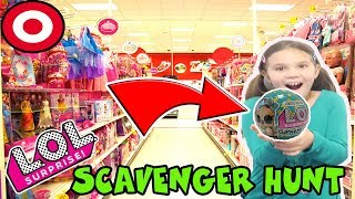 LOL Surprise Supreme Pet Scavenger Hunt At Target! We Found Lucky Luxe