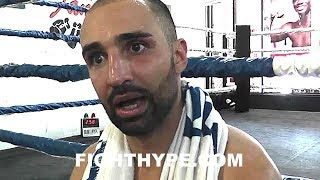 """MALIGNAGGI EXPLAINS WHAT MAYWEATHER CAN LEARN FROM MCGREGOR SPARRING CLIPS AND """"BAD"""" MEDIA WORKOUT"""