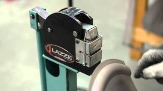 Metal Shaping with Lazze: Bead Roller and Shrink/Stretch Combination.