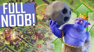 MAXIMIZEI A TROPA MAIS FORTE DO CV10 MAIS NOOB DO CLASH | RECUPERANDO UM CV10 NO CLASH OF CLANS