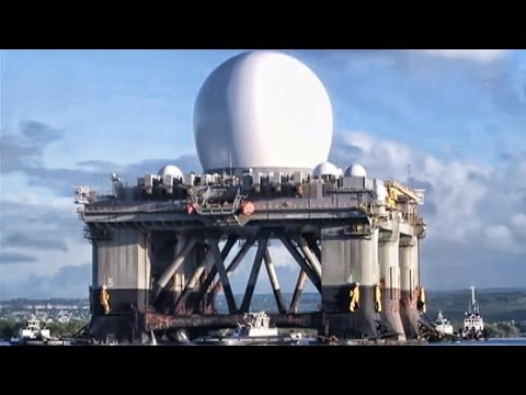SBX-1 Ballistic Missile Defence System Enters Pearl Harbor