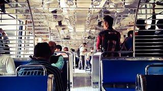 Travelling Thane To Juinagar Mumbai Local Train Mumbai Max 🔥.