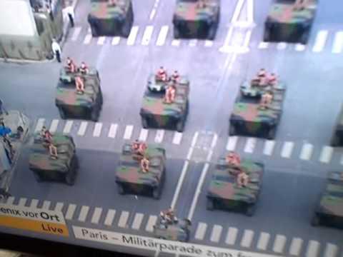 French army parade(tanks)german)