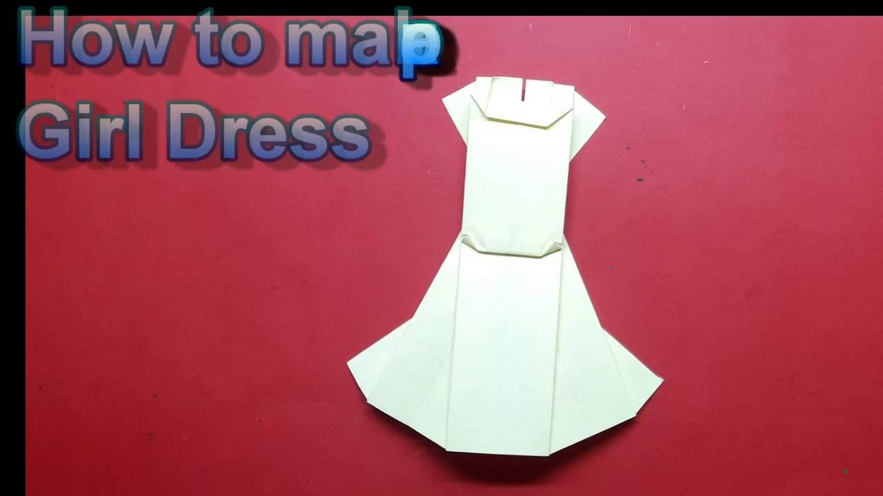 How To Do A Paper Girl Dress Craft Idea Diy Projects For School