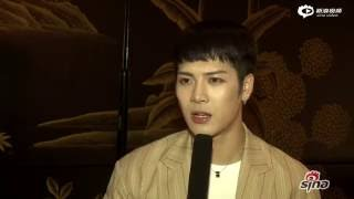 [ENG SUB] 160608 Sina Interview with Jackson