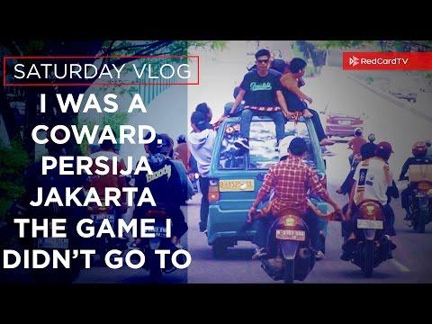 I Was A Coward. Persija Jakarta And The Match I Didn't Go To. Vlog 76. Pakansari Stadium