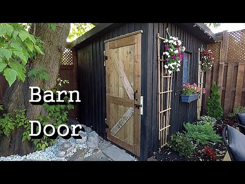 Barn Door Build Using Festool Domino XL