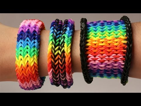 Rainbow Loom Nederlands - 3-in-1 Dragon Scale Tail || Loom bands, rainbow loom, tutorial