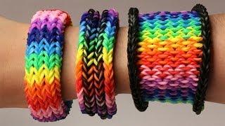 Rainbow Loom Nederlands - 3-in-1 Dragon Scale Tail || Loom bands, rainbow loom, tutorial