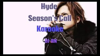 Gambar cover HYDE - SEASON'S CALL (Karaoke)