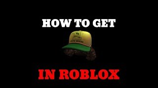 How To Get Dustin's Cap On Roblox